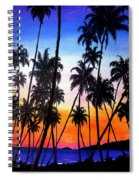 Mayaro Red Dawn Spiral Notebook