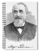 Mayer Lehman (1830-1897) Spiral Notebook