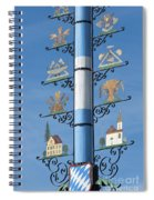 Maypole  Spiral Notebook