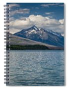 Mcdonald Lake Super Panorama Spiral Notebook