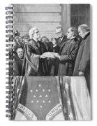 Mckinley Taking Oath, 1897 Spiral Notebook