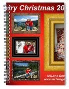 Mclanegoetz Studio Christmas Card Spiral Notebook