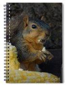 Me Love Sweet Corn Spiral Notebook
