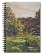 Meadow Scene  Spiral Notebook