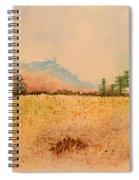Meadow Wildflowers - Watercolor Spiral Notebook