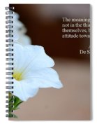 Meaning Of Things Spiral Notebook