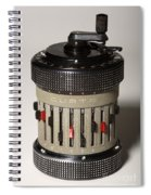 Mechanical Calculator Spiral Notebook