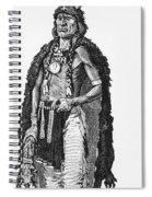 Medicine Elk Spiral Notebook