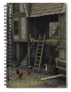 Medieval Idyll Spiral Notebook
