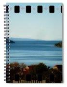 Meditate.2 35 Mm Bleed Effect Spiral Notebook