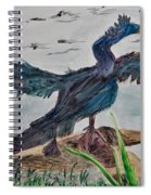 Anhinga-drying Out Spiral Notebook