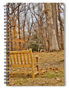 Meditation At Valley Forge Spiral Notebook