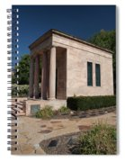 Meditation Chapel  Spiral Notebook
