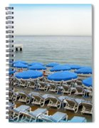Mediterranean Blue Spiral Notebook