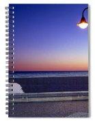Mediterranean Sea At Motril Spiral Notebook