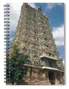 Meenakshi Temple Spiral Notebook