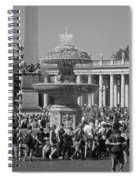 Meet Me At The Fountain Spiral Notebook