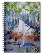 Meeting At The Slough Spiral Notebook