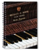 Mehlin And Sons Piano Spiral Notebook