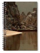 Mekong Landscape Laos Spiral Notebook