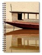 Mekong Reflection 2 Spiral Notebook
