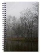Melancholy Foggy Evening Spiral Notebook