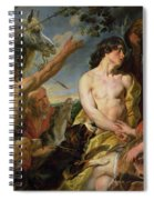 Meleager And Atalanta Spiral Notebook