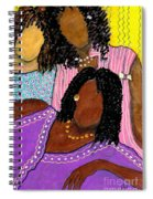 Mellow Sistahs Spiral Notebook