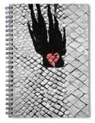 Melted In Love Spiral Notebook