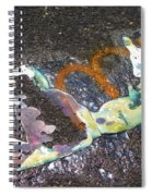 Melted Pin Up Girl Spiral Notebook