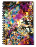 Melting Ice Spiral Notebook