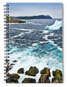Melting Iceberg In Newfoundland Spiral Notebook