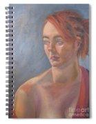 Memories In Red Spiral Notebook