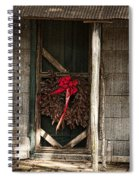 Memories Of Christmas Past Spiral Notebook