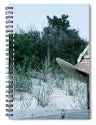 Memories Of Sea Isle Spiral Notebook
