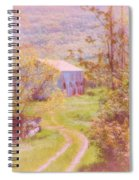 Memories Of The Farm Spiral Notebook