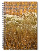 Men Are Like Grass Spiral Notebook
