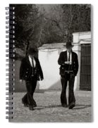 Men In Costume Spiral Notebook