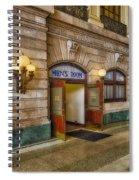 Mens Room Spiral Notebook
