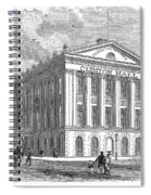 Mercantile Library, C1830 Spiral Notebook