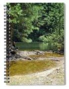 Merced River Yosemite National Park Spiral Notebook