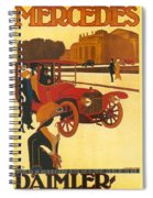 Mercedes Daimler Spiral Notebook