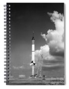 Mercury Flight Spiral Notebook