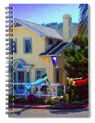 Mermaid House Spiral Notebook