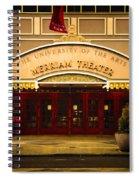 Merriam Theater Spiral Notebook