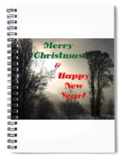 Merry Christmas And Happy New Year 2 Spiral Notebook