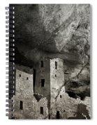 Mesa Verde - Monochrome Spiral Notebook