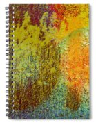 Message Written On Grass Spiral Notebook