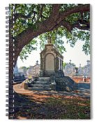 Metairie Cemetery Spiral Notebook