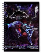 Metal Eve Spiral Notebook